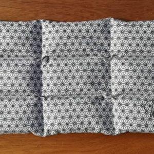 Bouillotte sèche graines de lin bio four traditionnel ou micro-ondes